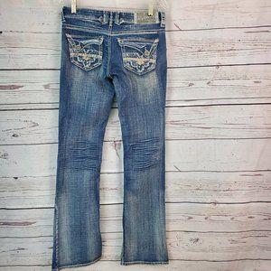 Hydraulic Gramercy Original Boot Jeans Size 1/2